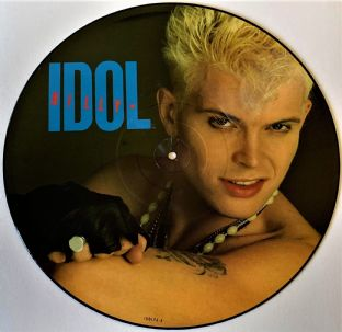 "Billy Idol ‎- Rebel Yell (12"") (Picture Disc) (G++/NM)"